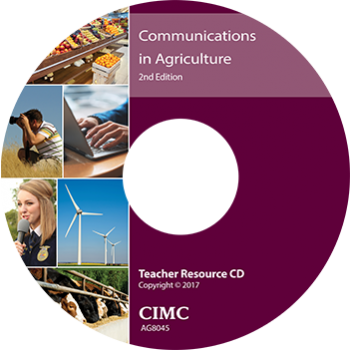 Communications in Agriculture Teacher Resource CD