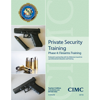 PRIVATE SECURITY PHASE 4: - HANDGUN (TEACHER)