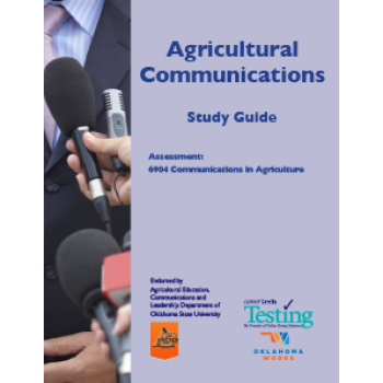 AGRICULTURAL COMMUNICATIONS STUDY GUIDE
