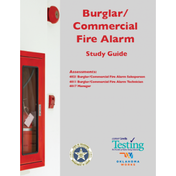 BURGLAR/COMMERCIAL FIRE ALARM STUDY GUIDE