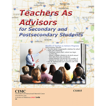 Teachers as Advisors for Secondary and Postsecondary Students
