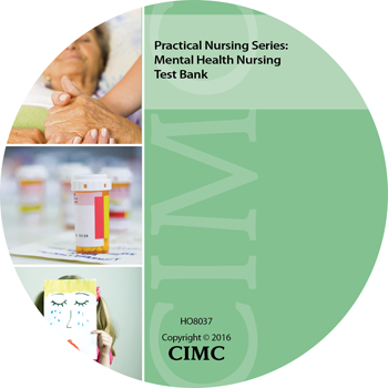 Mental Health Nursing Test Bank CD