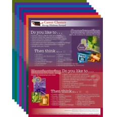 CAREER CLUSTER POSTERS (SET OF 8)