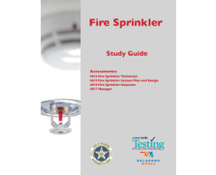 FIRE SPRINKLER STUDY GUIDE