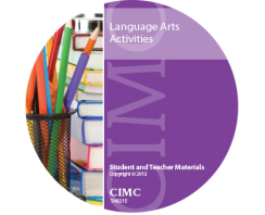 Language Arts Activities CD