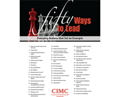 Fifty Ways to Lead poster