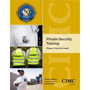 Private Security Phase 2: Security Guard (Student) 2020