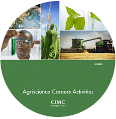 AGRISCIENCE CAREERS ACTIVITIES CD PLUS LIVING SCIENCE POSTERS