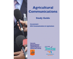 AGRICULTURAL COMMUNICATIONS:  COMMUNICATIONS IN AGRICULTURE ASSESSMENT