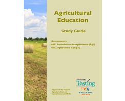 AGRICULTURAL EDUCATION:  INTRODUCTION TO AGRISCIENCE (AG 1) ASSESSMENT