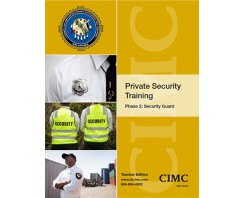 Private Security Phase 2: Security Guard (Teacher) 2020